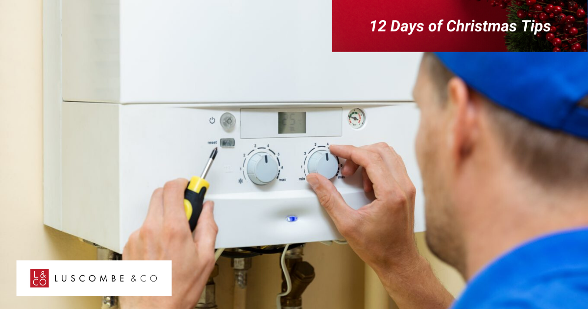 12 Tips of Christmas - Day 6 - Get A Boiler Service